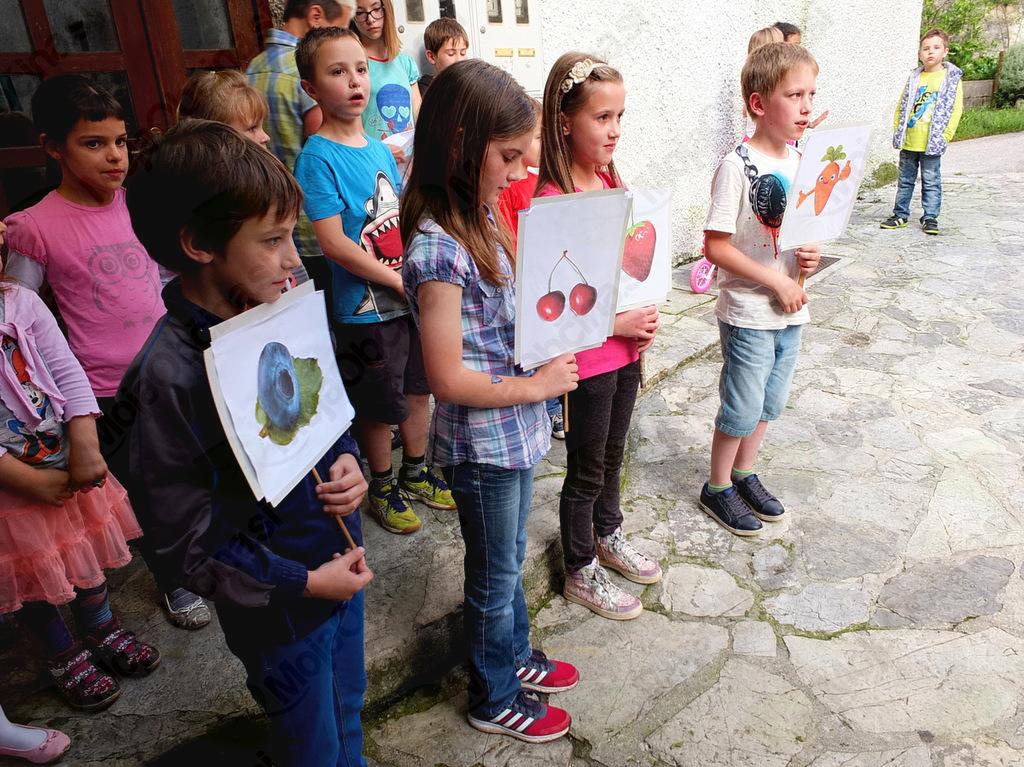 Na dogodku so sodelovali člani Goriškega literarnega kluba GOvoRICA in učenci Podružnične osnovne šole Smast.