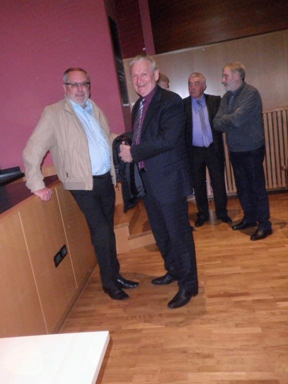 Zbor je s svojo prisotnostjo počastil tudi gospod župan.  Foto: Majda Rejec