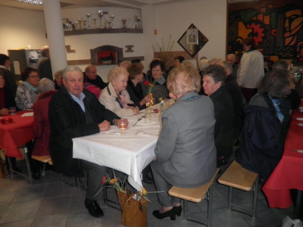 Druženje po zaključku zbora.  Foto: Majda Rejec