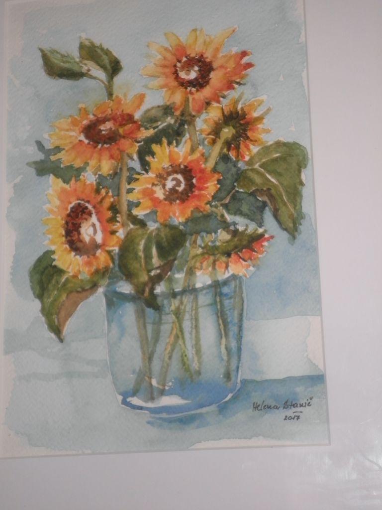 Helena Stanič, ljubiteljska slikarka