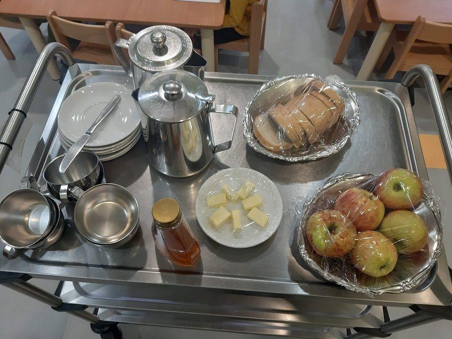 Tradicionalni slovenski zajtrk v vrtcu Križevci