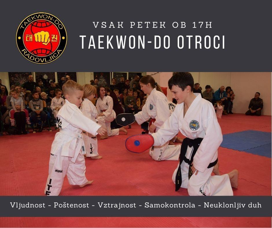 VPIS - OTROCI Taekwon-do