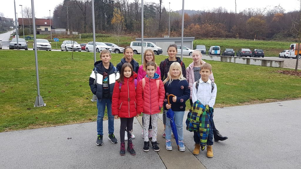 Učenci Osnovne šole Sava Kladnika Sevnica na državnem tekmovanju Matemček