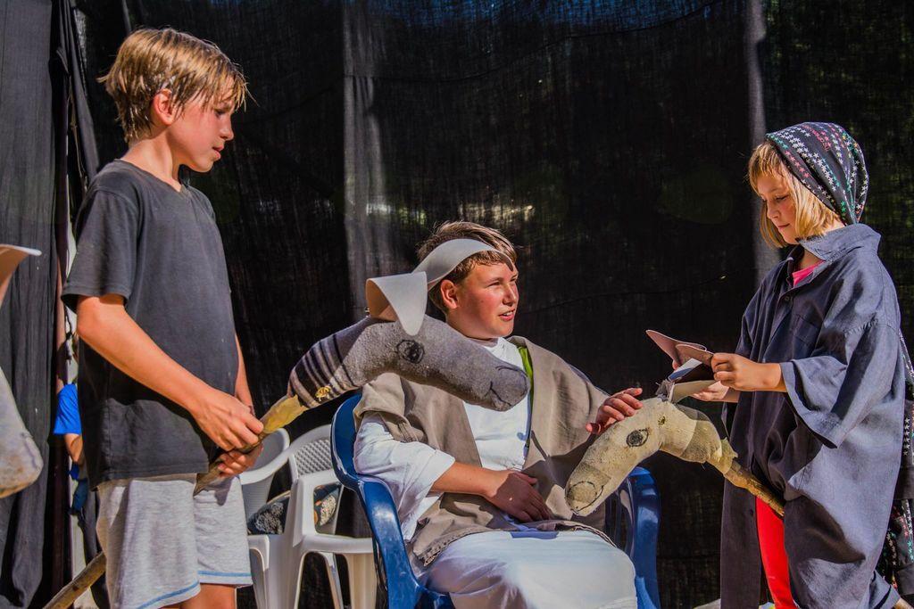 Dramatizacije evangelijskih odlomkov. Foto: Nejc Markič