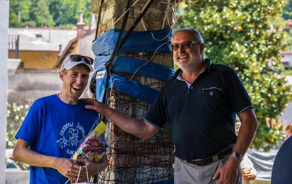Obiskal nas je župan Andrej Maffi. Foto: Nejc Markič