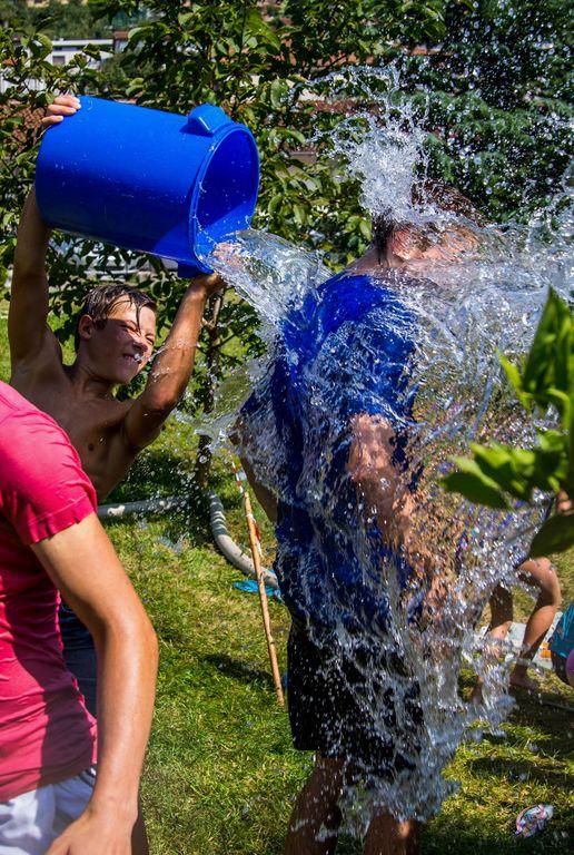 Vodna zabava. Foto: Nejc Markič