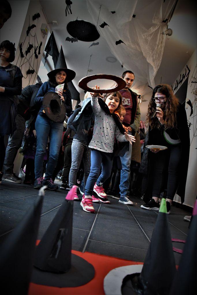Čarovniško rajanje v Celjskem mladinskem centru