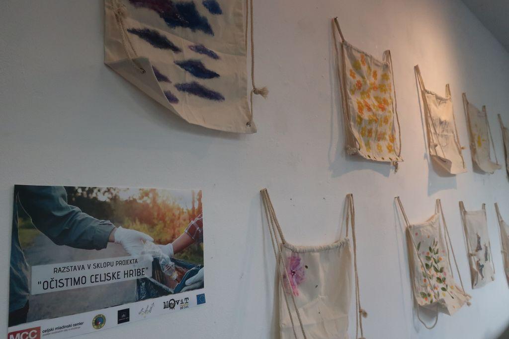 Odprtje razstave v sklopu projekta »Očistimo celjske hribe«