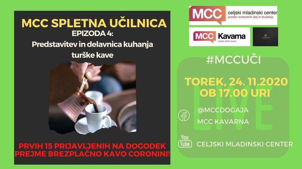 Predstavitev in delavnica kuhanja turške kave