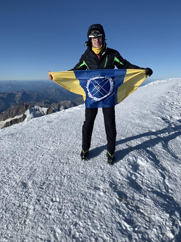 Oplotnica na vrhu Mont Blanca