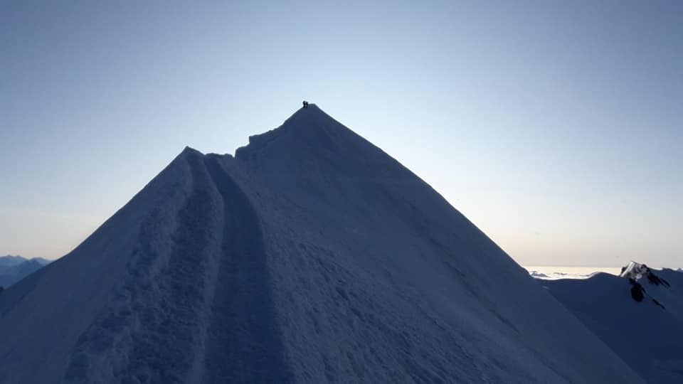 Malo pred vrhom