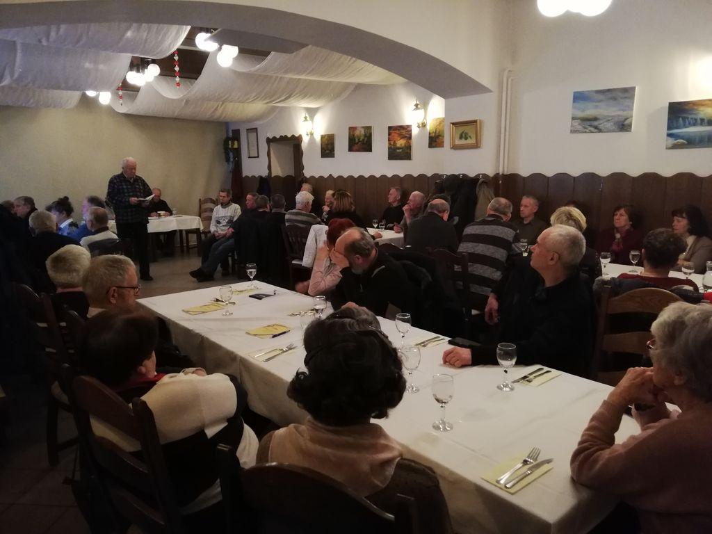Občnega zbora društva se je udeležilo več kot 50 članov