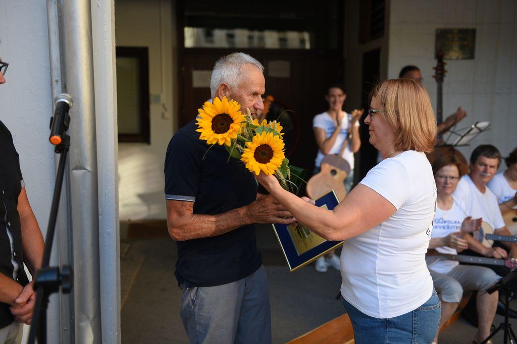 Kljub odpovedi občinskega praznika podelili priznanje Andreju Verbiču