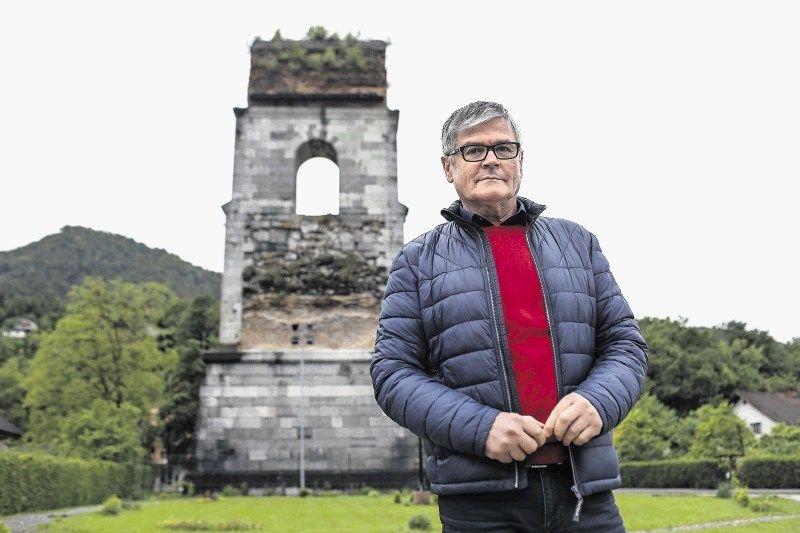 Župan občine Borovnica Bojan Čebela; foto: Jaka Gasar