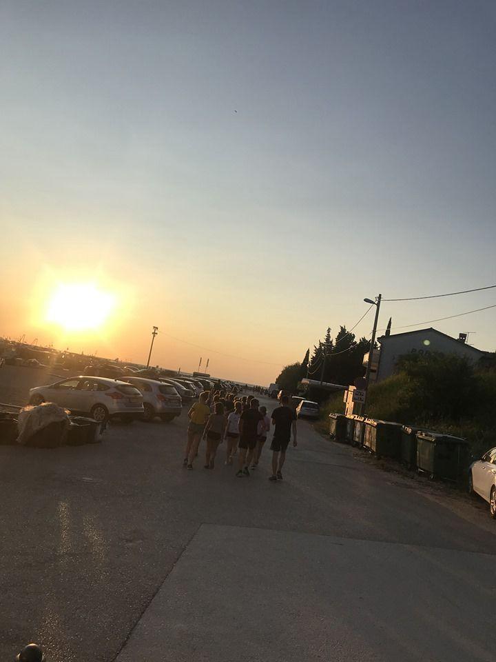 Večerni sprehod po Savudriji.