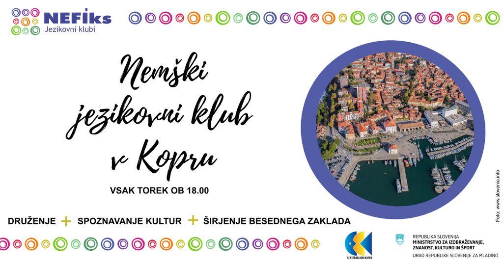 Nemški jezikovni klub v Kopru