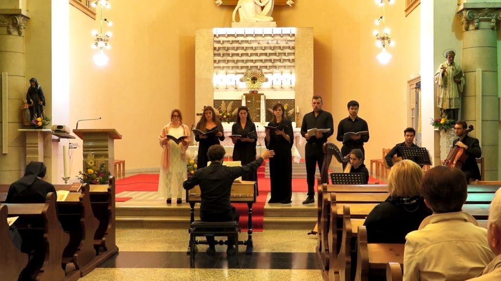 Koncert baročne cerkvene glasbe