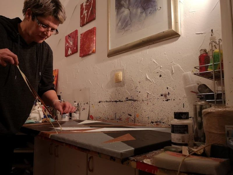 Creatusov intervju s slikarko Sabino Bačar