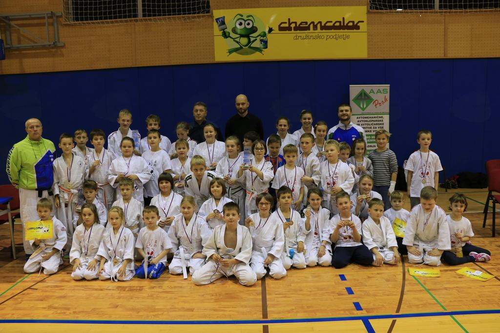 Učenci OŠ Boštanj ekipni občinski prvaki v ju jitsu