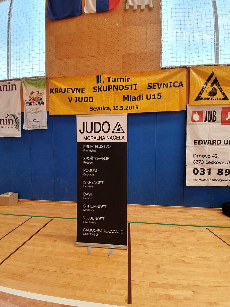 III. Tradicionalni turnir KRAJEVNE SKUPNOSTI SEVNICA v JU-JITSU, JUDU,