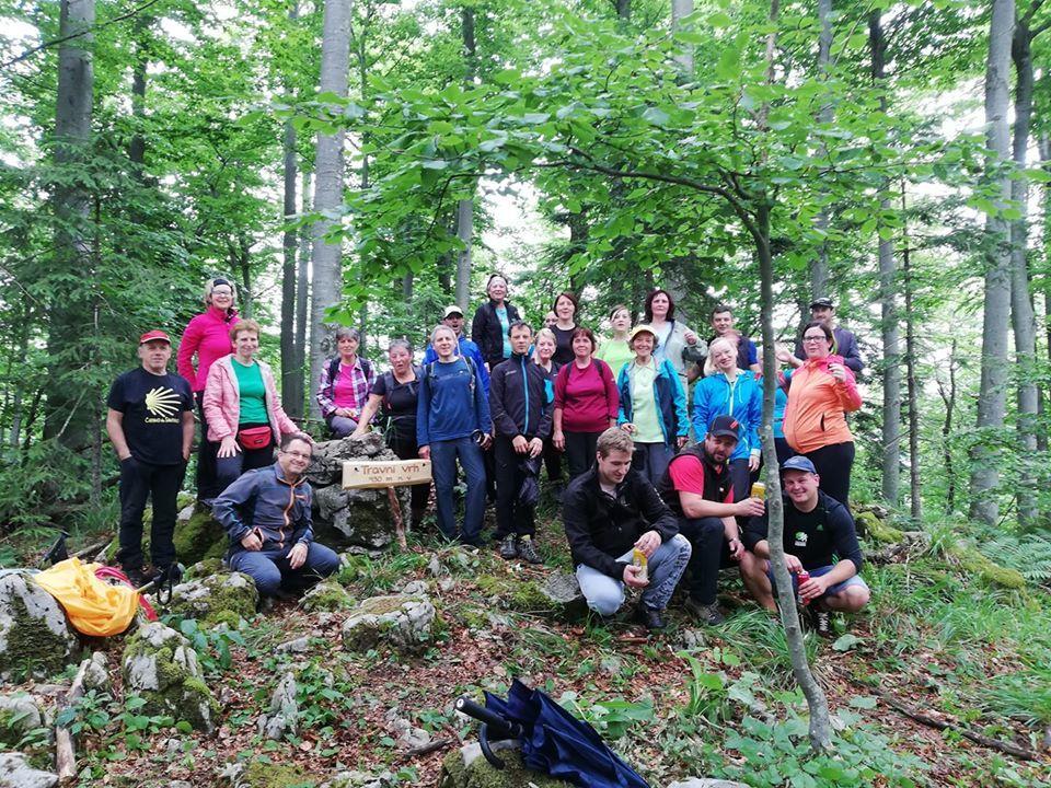 Pohod na najvišji vrh v občini Logatec - TRAVNI VRH 930 m.n.v.