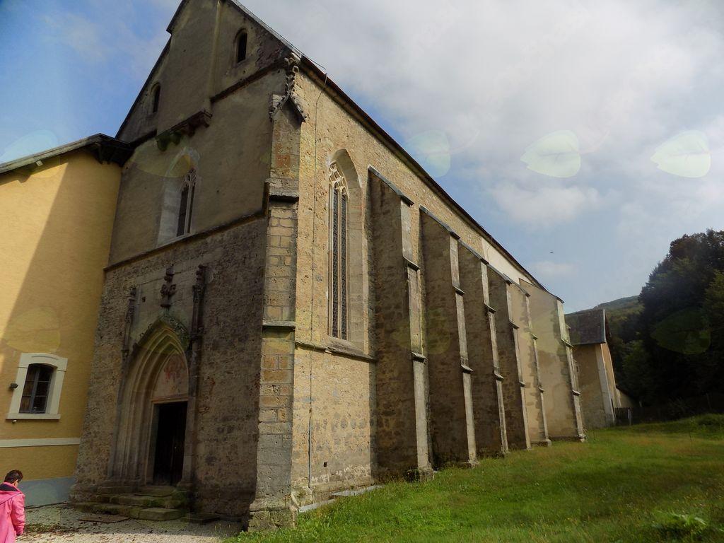 Gotska cerkev iz 15,stoletja v kartuziji Pleterje