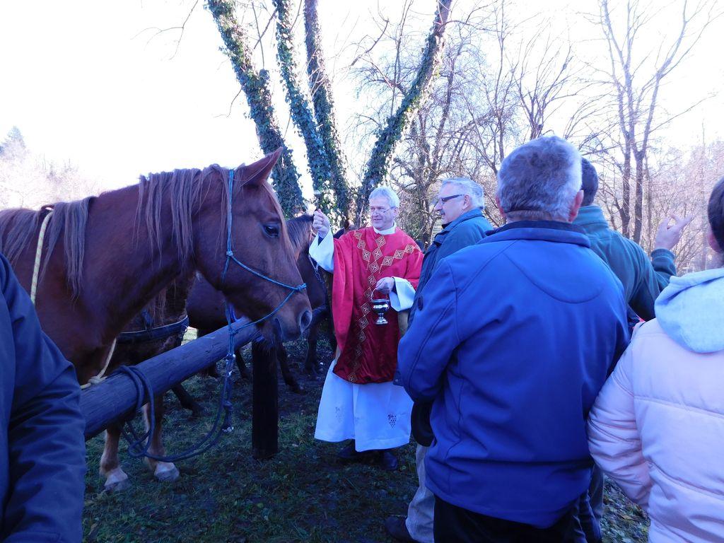 Blagoslov konj na Štefanovo
