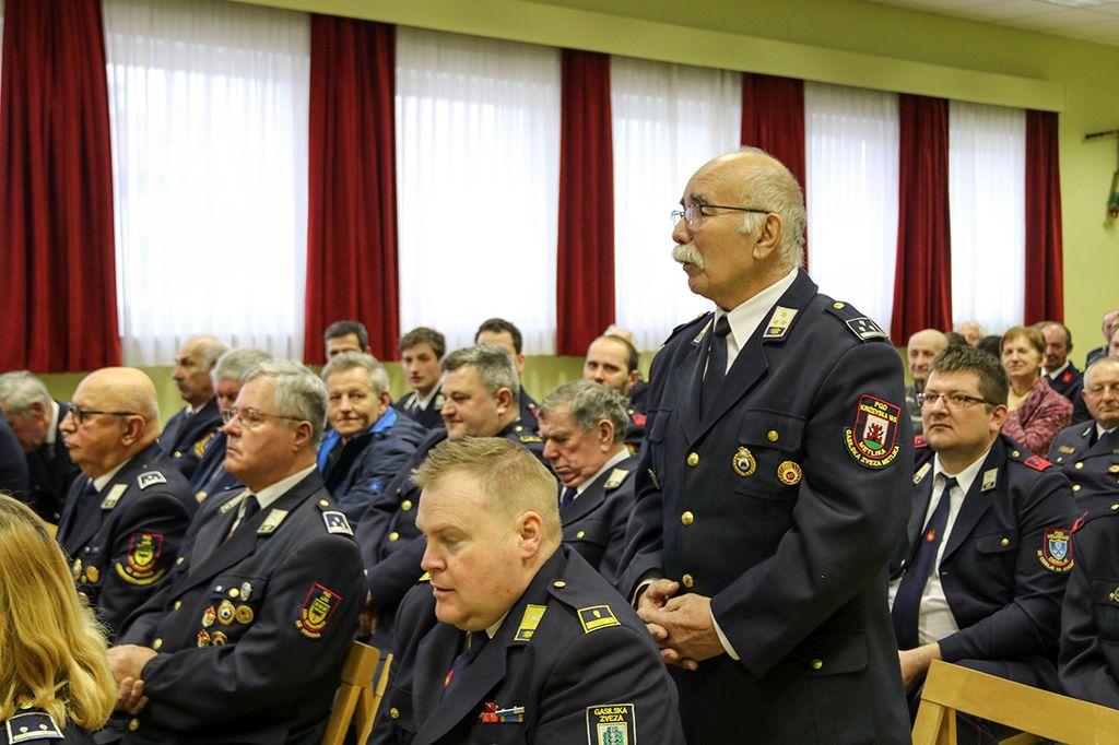 Občni zbor PGD Brezovica pri Ljubljani