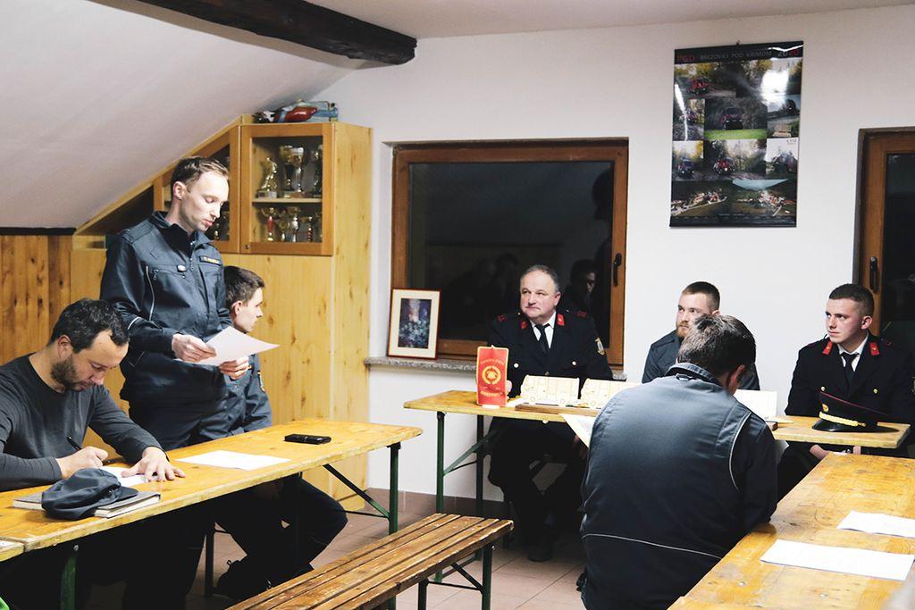Občni zbor v PGD Brezovici pod Krimom