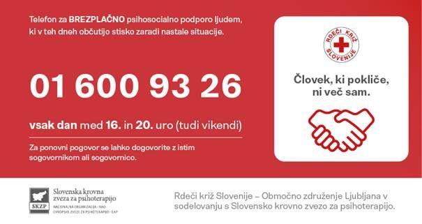 Izredni obvestilnik Rdečega križa Ljubljana