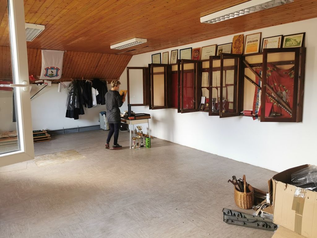 Dela v gasilskem domu Prekopa v sklopu LAS