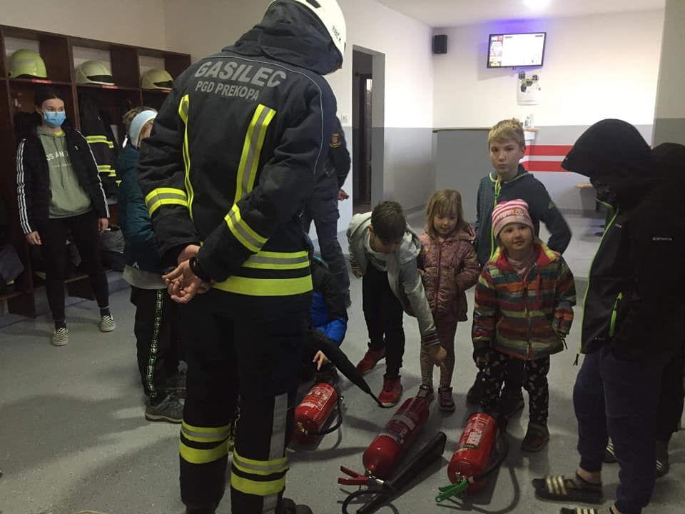 Priprave na virtualni kviz gasilske mladine – PGD Prekopa–Čeplje–Stopnik