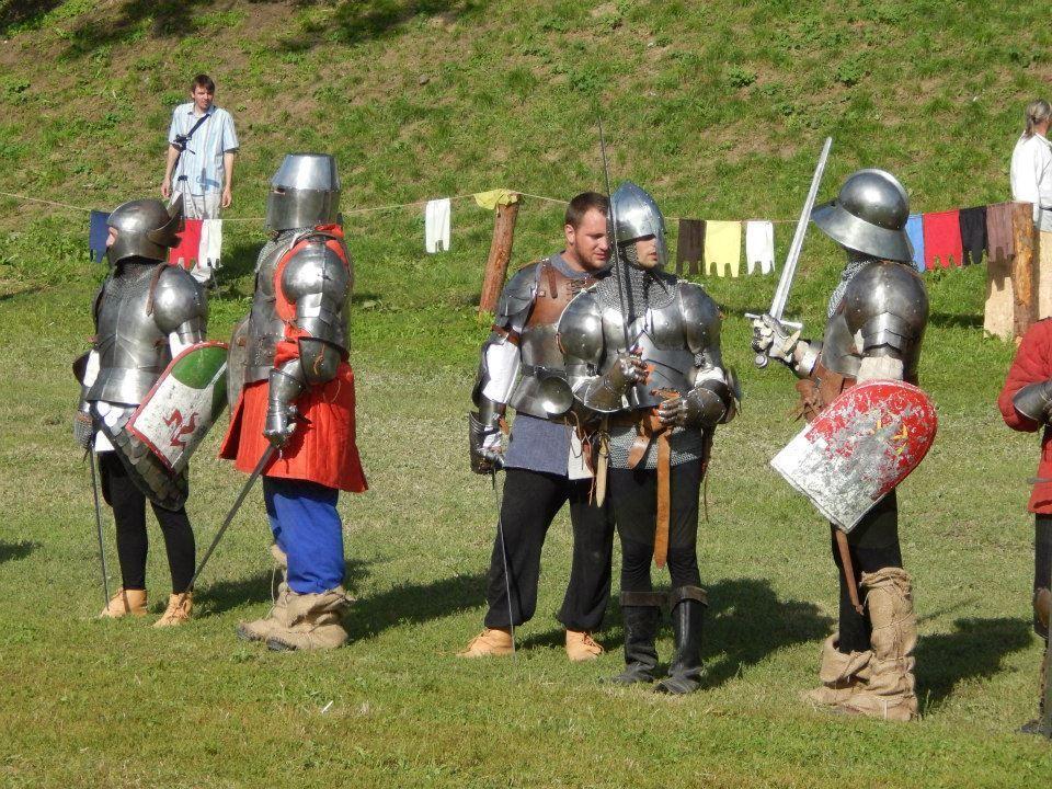 Šentrupertski vitezi, gospice in strelci na festivalu v Koprivnici