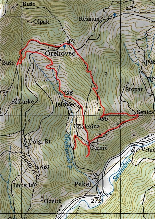 Pohod po Ovnovi poti