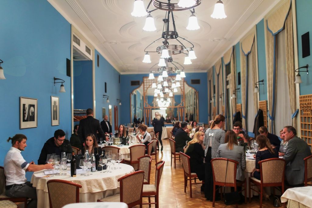 Salon modre frankinje v Ljubljani
