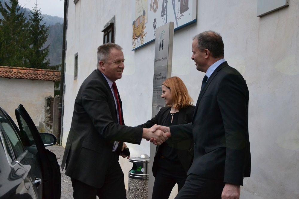 Z ministrom Počivalškom o potencialih občine