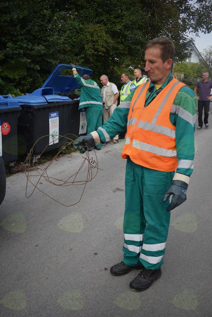 Ločujte pravilno – inšpekcija na delu