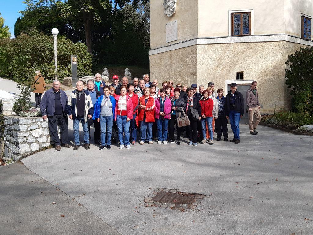 Polhograjski upokojenci: izlet iz Gradca v avstrijski Graz