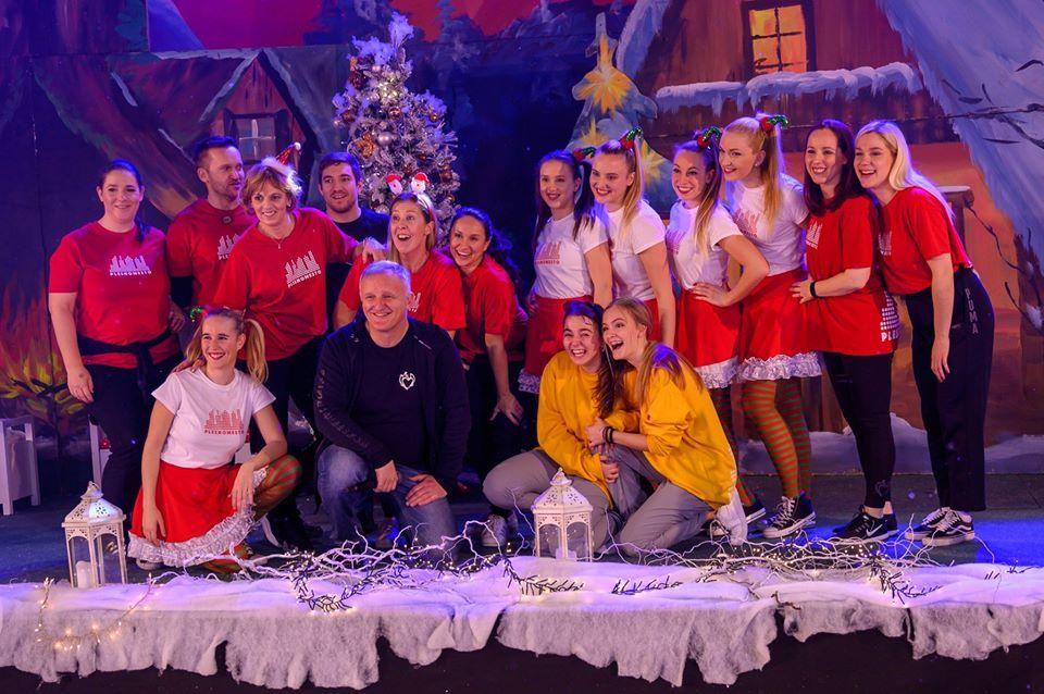 Plesni vaditelji in ustanovitelja Plesnega mesta (Foto: Matej Predikata)