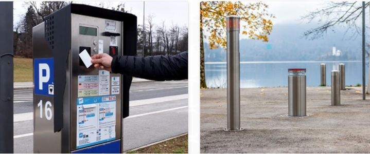 Blejska kartica in dostop v cono za pešce