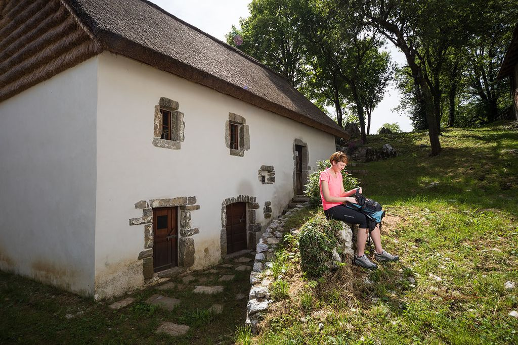 Nježna hiša v vasi Jevšček. Foto: Jošt Gantar, arhiv Turizem Dolina Soče