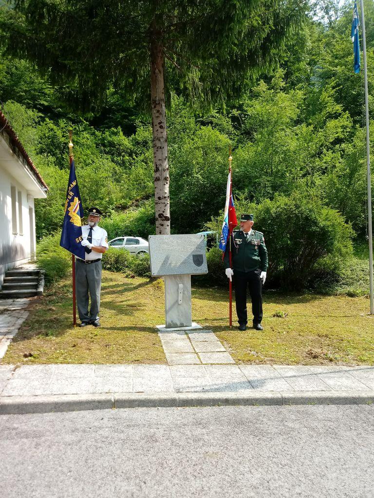 Obeležitev Dneva državnosti in zavzetja mejnega Prehoda Robič,