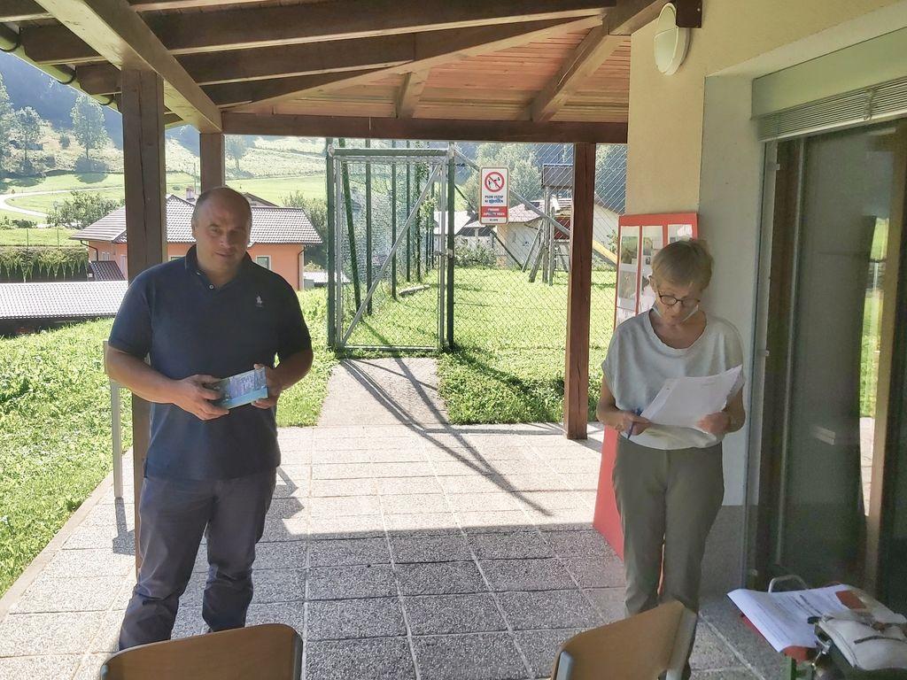 Podžupan Marko Miklavič je ob odprtju poti izrazil zadovoljstvo nad pobudami krajanov iz lokalnega okolja.