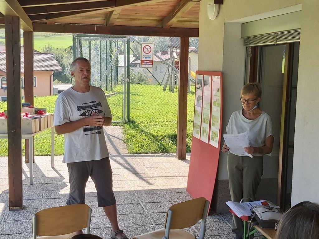 Direktor Zavoda Turizem Dolina Soče Janko Humar je predstavil projekt.