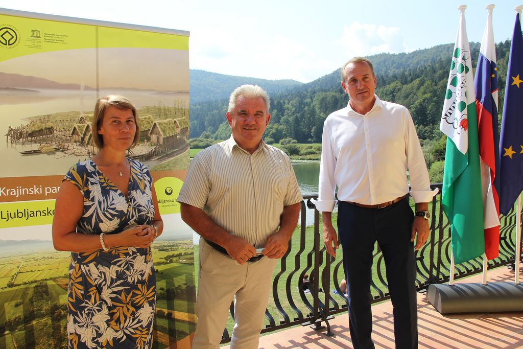 Minister za okolje na obisku Ljubljanskega barja