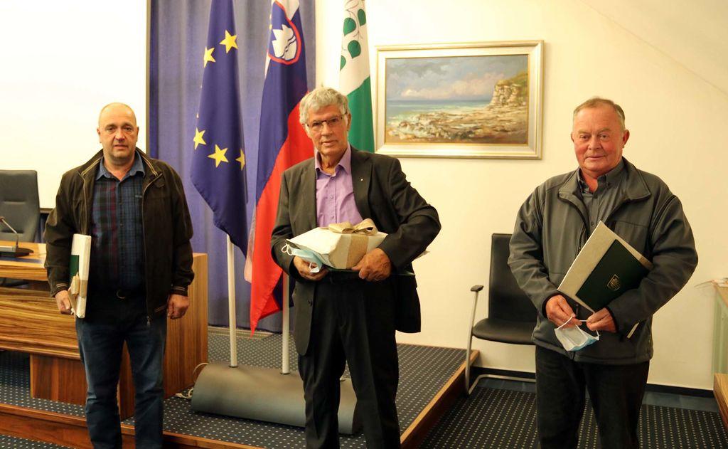 Letošnji nagrajenci priznanj Občine Brezovica