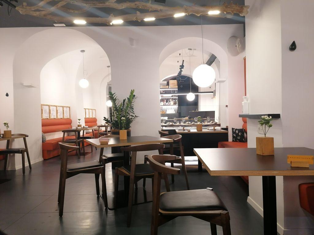 Notranjost restavracije Landerik