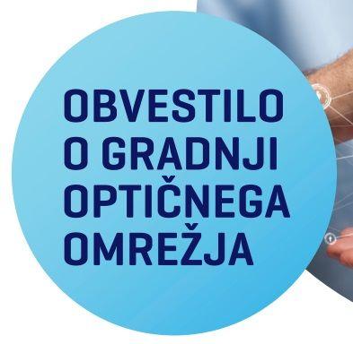 Izgradnja optičnega omrežja v naši občini