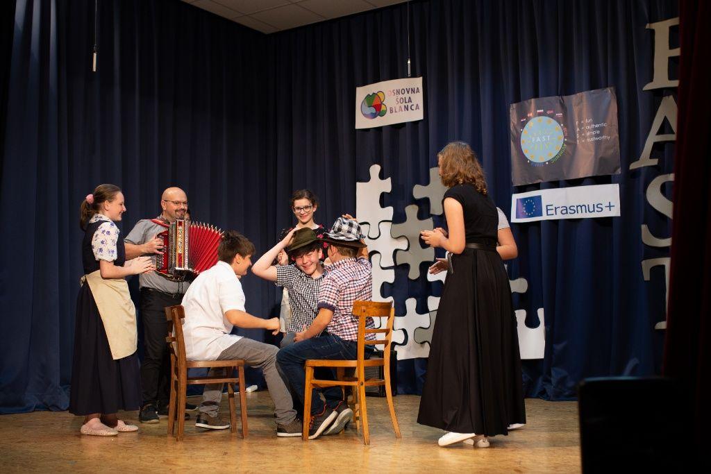 Kulturna prireditev v sklopu Erasmus+ projekta FAST