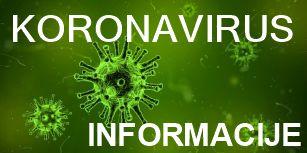 Pregled informacij, storitev in ukrepov za zajezitev širjenja koronavirusa